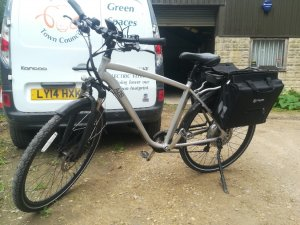 The town council's second-hand electric bike