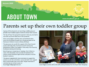 About Town Newsletter