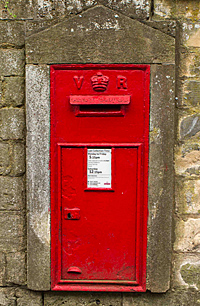 Victorian Postbox in Lansdown